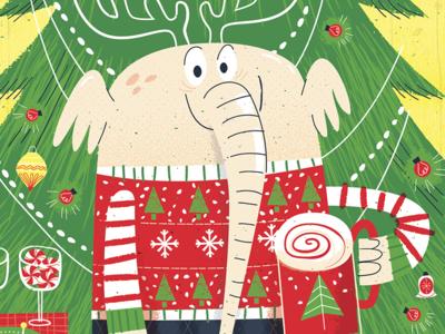 Larry The Christmas Elephant