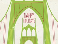 St Johns Bridge Christmas