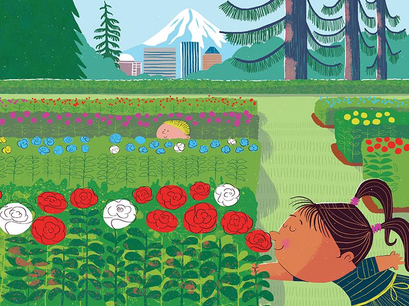 Portland Baby teaser 3 mthood pdx boardbooks picturebooks kidlitart portland