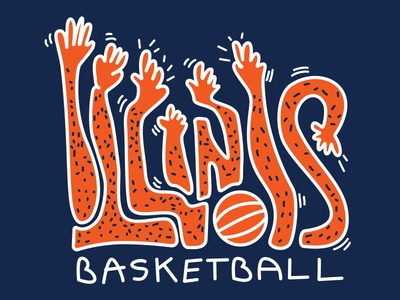 Handsy Illinois Basketball