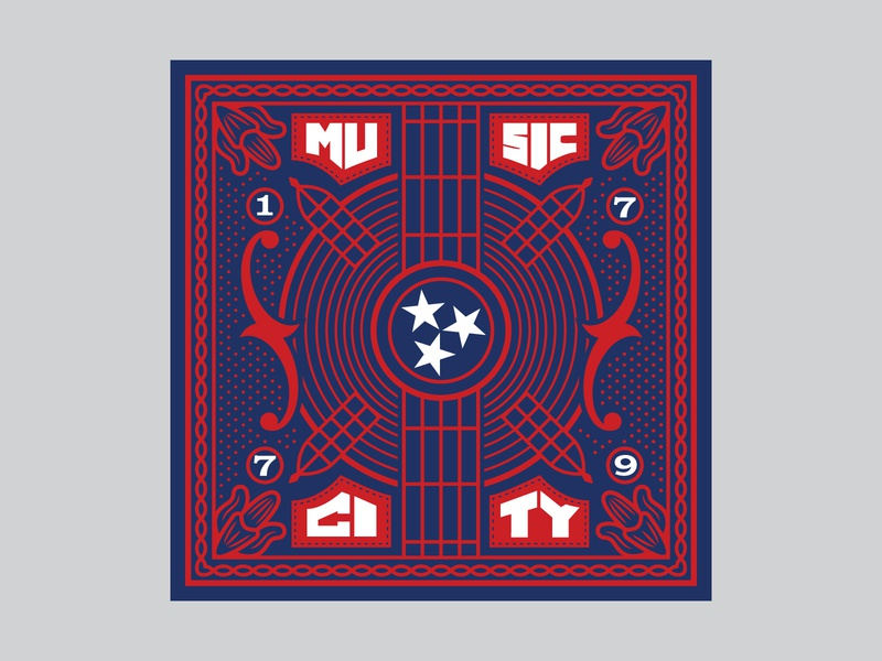 Music City Bandana