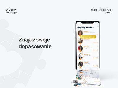 Dating App - Wisyo mobile app design ux ui