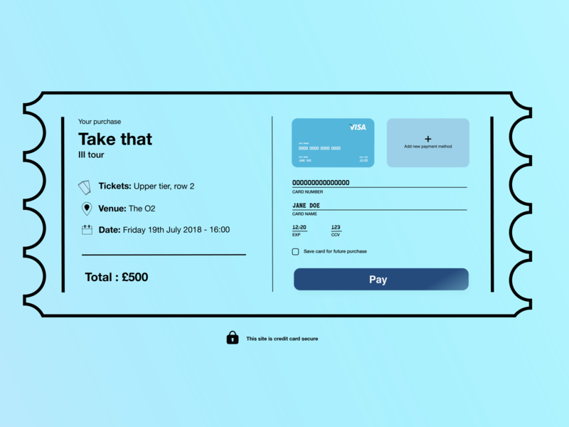 Daily UI: Checkout