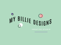 Logo design for My Billie Designs (my design studio)
