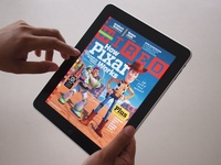 Wired Magazine for the Ipad