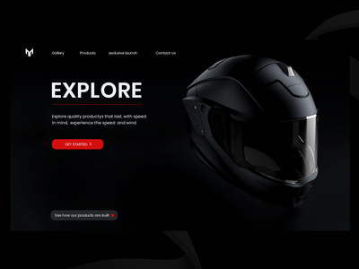 motorcycle accessories landing page