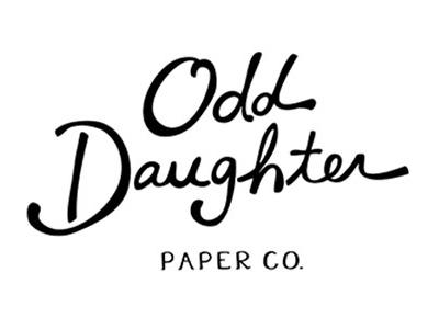 Odd daughter   script logo2