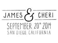 james + cheri: initial idea