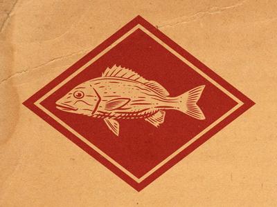Fish Spot illustration icon spot