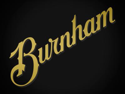 Burnham Script script lettering b thorns