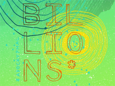 Science Poster Preview billions science space pale blue dots poster asterisk