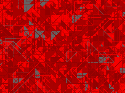 Output: V1 triangles geometric grey red hype processing
