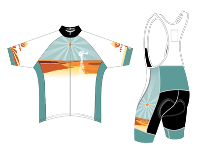 Del Rio Cycling Kit cycling mountain bike jersey kit canyon star texas