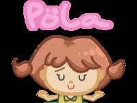 pola mascot character digital artwork artwork art illustration art