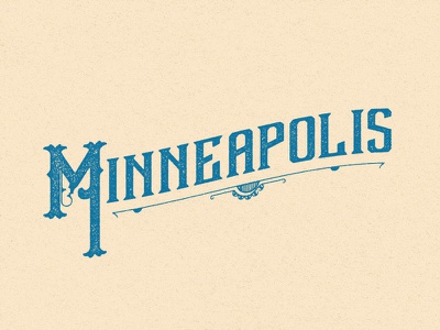 Home typography vintage minneapolis old minnesota minnesota