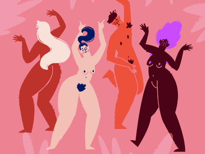 diversity dancer colours nude music characterdesign dancers diversityillustration diversity