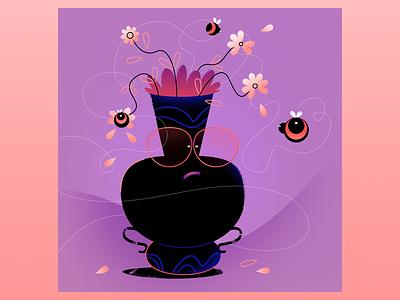 grumpy vase