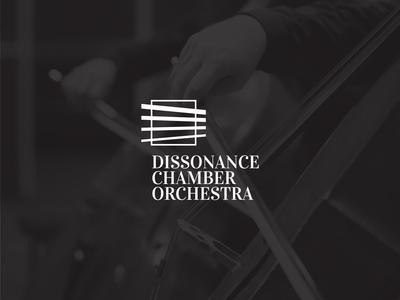 Dissonance Chamber Orchestra Visual Identity (Logo)