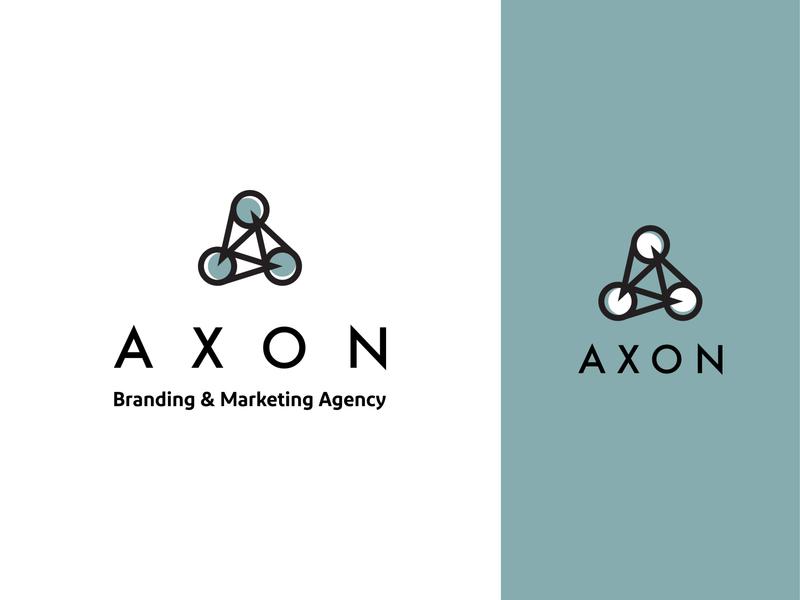 AXON Branding & Marketing Agency Visual Identity