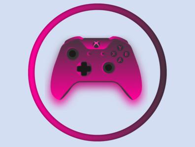 Xbox One - Neon Magenta Theme