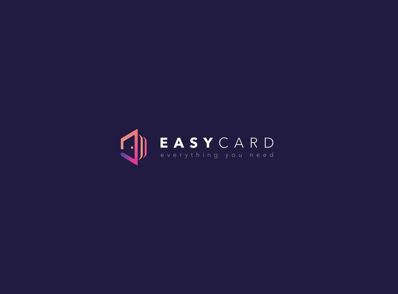 easycard easycard logo design logodesign logotype logos vector branding illustration logo