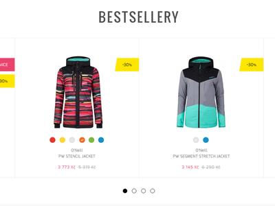 WIP   E-commerce   fashion   teen website simple czech lukaszitnik ui work photoshop webdesign fashion eshop ecommerce wip