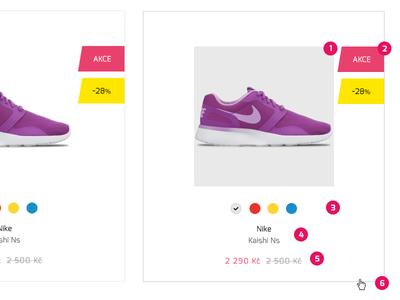 Listing of product - guide for developer work wip website webdesign ui simple photoshop fashion eshop ecommerce developer