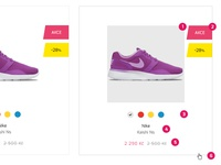 Listing of product - guide for developer work wip website webdesign ui simple photoshop fashion eshop ecommerce developer