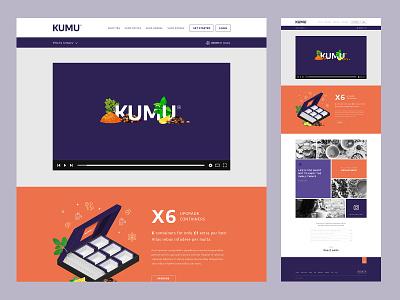 KUMU - About Us branding ecommerce ui brand website design website