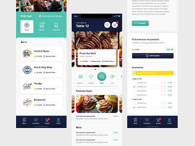 Fidelity EPoS - Ordering App app design design app ui