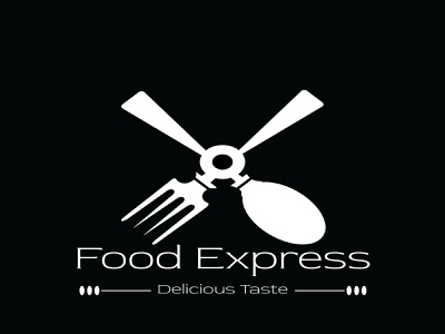 Food Express inspiration creative graphic design artist decor style graphicdesign illustration design logo branding brand identity adobe illustrator adobe photoshop
