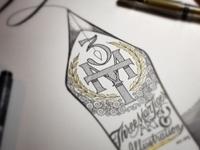 3MT Calligraphy Nib Monogram