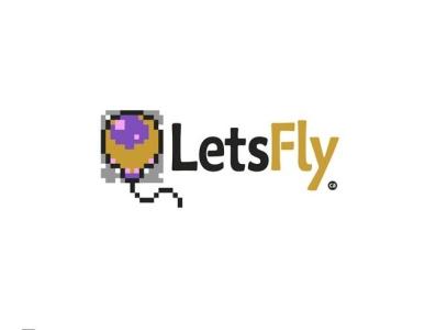 Lets fly کالیگرافی branding logo graphic typography برند logotype logotype design