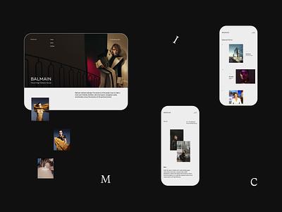 Mosaic-design portfolio minimalism portfolio clean webdesign web ux ui design