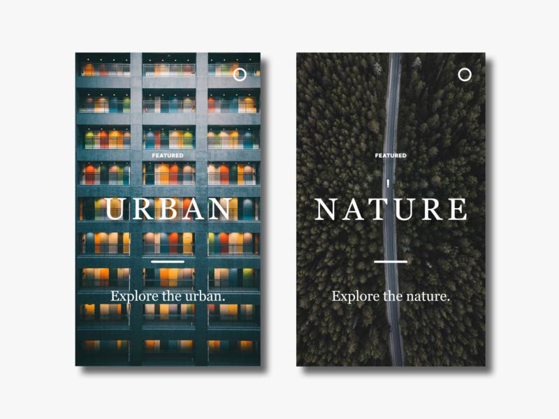 Article Cards ux portfolio website blog app illustration design card ui minimal