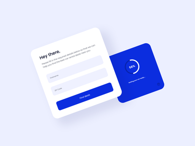 UX Writing Day - 10 progress bar loading text fields prompt day 10 components blue ux writing challenge