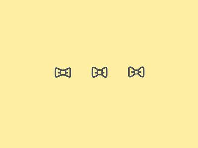 bowtie / etiquette icon icon bowtie