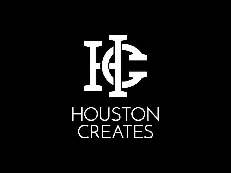 Houston Creates houston texas create logo brand