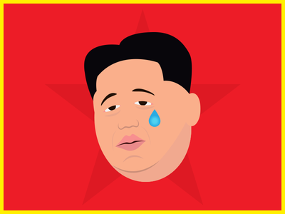 Kimunji - The Real Kimoji emoji illustration best kim best korea north korea kim jong un kim kardashian