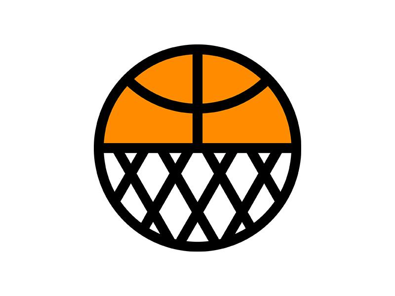 Houston Basketball Icon houston illustration sports hoop net icon basketball