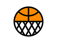 Houston Basketball Icon houston illustration sports hoop net icon basketball