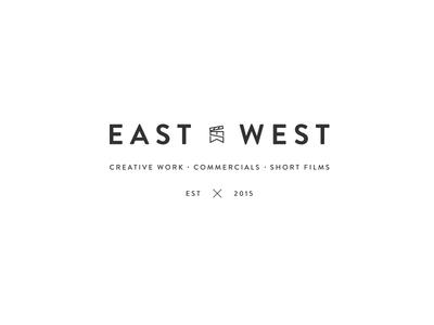 East x West Logo Black