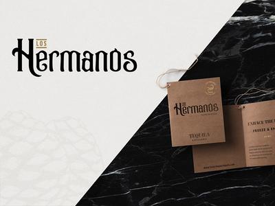 Los Hermanos Tequila Branding and Packaging