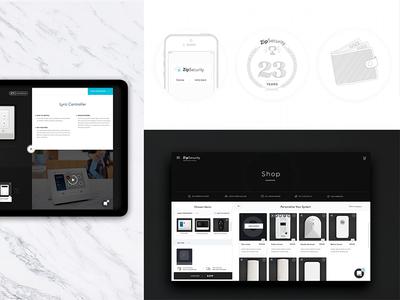 DIY Security E-Commerce Design