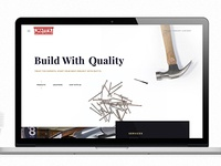 Website for Matt's Building Materials