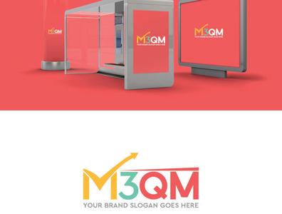 m3qm Logo Design branding presentation branding branding design design logo