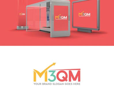 m3qm presntation branding and identity design logo branding branding design