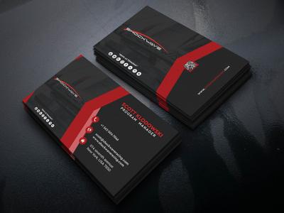 Business card Design black business card business card design design
