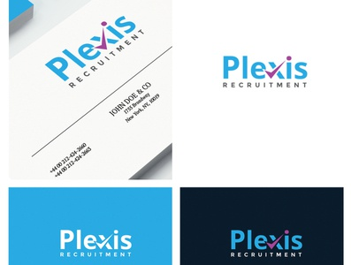 Plexis logo vector design