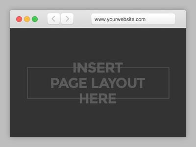 Mockup Browser Template